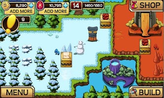 Screenshot of Terrapets