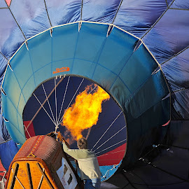 Preparation by Roy Walter - Transportation Other ( hot air, hot air balloon, flames, transportation, inflation )