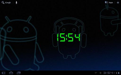 24 Hour Digital Clock Widget