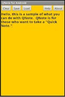 Screenshot of QNote