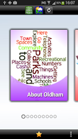 Screenshot of Oldham Town Guide