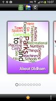 Screenshot of Oldham Town Guide
