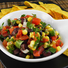 Black Bean, Corn, and Salsa Dip--Weight Watchers