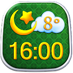 Islam Clock Weather Widget APK Image