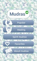 Screenshot of Mudras