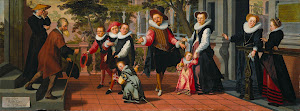 RIJKS: Aert Pietersz., Pieter Pietersz. (I): Rich Children, Poor Parents 1599