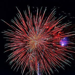 Happy July 4 by Rajeev Krishnan - Public Holidays July 4th ( public holidays, firework, fireworks, independence day, july 4,  )