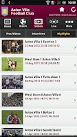 Screenshot of Aston Villa