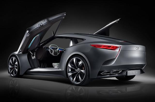 Hyundai Unveils The HND-9 Concept