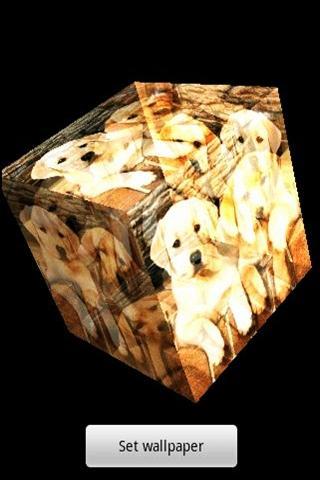 3Dのかわいい犬36