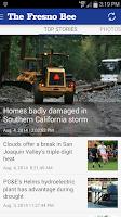 Screenshot of Fresno Bee newspaper