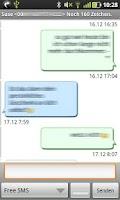 Screenshot of Gschickt FREE (Messaging)