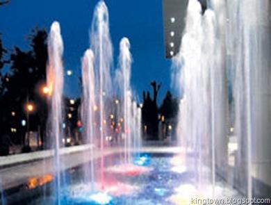 Kraljevo budući izgled fontane