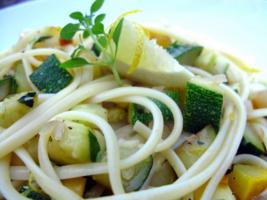 Courgette and Lemon Pasta