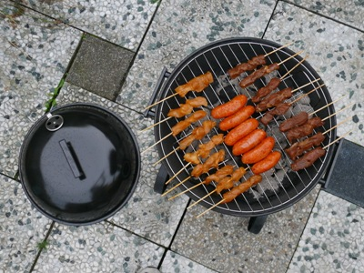Marcel's new BBQ
