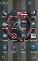 Screenshot of Super Star GO Launcher Theme