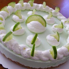 Frozen Margarita Pie