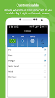 Screenshot of myENV