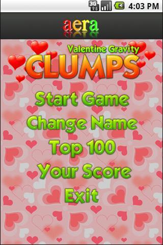 Valentine Gravity Clumps