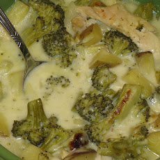 Crock Pot Broccoli Cheese Chicken