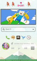 Screenshot of Cartoon Play dodol Theme