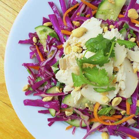 Thai Chicken Salad with Roasted Peanuts