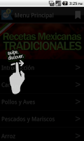 Screenshot of Recetas Mexicanas Tradicionale