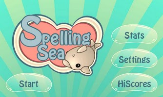 Screenshot of Spelling Sea Word Game