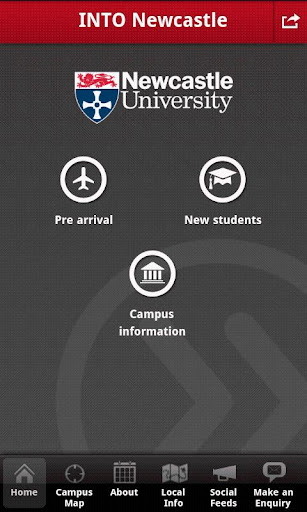 INTO Newcastle student app