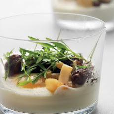 Coddled Eggs with Wild Mushrooms and Creme Fraiche