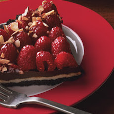 Chocolate, Almond, and Raspberry Tart