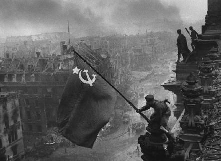 Le drapeau de la victoire