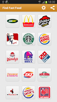 Screenshot of Find Fast Food (Food Locator)