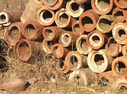 Ржавые водопроводные трубы