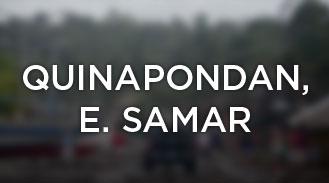 Quinapondan, Eastern Samar