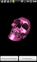 Screenshot of Skull 3D Wallpaper