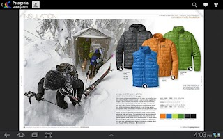 Screenshot of Google Catalogs