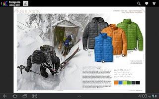 Screenshot of Google Catalogs