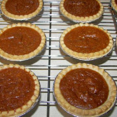 Sweet Potato-Molasses Pie