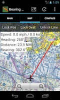 Screenshot of Bearing+Distance SC