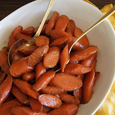 Molasses-and-Ginger-Glazed Carrots Recipe