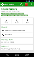 Screenshot of Czech Pharmacies