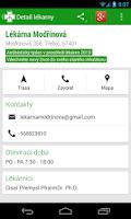 Screenshot of Czech Pharmacies