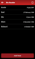 Screenshot of Bio Reader