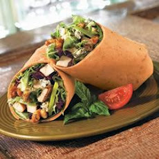 Sundried Tomato Basil Pesto Chicken Wrap
