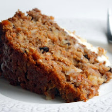 Sugar Free and Vegan Carrot Cake