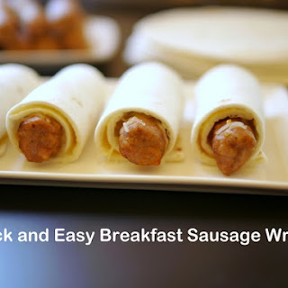 Breakfast Sausage Wraps