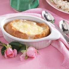Baked Beefy Onion Soup