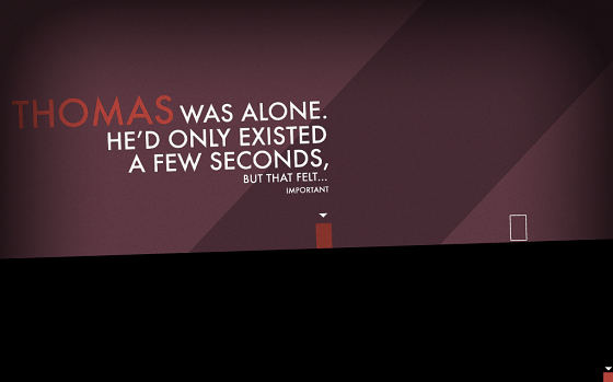 Thomas Was Alone arrives on iPad