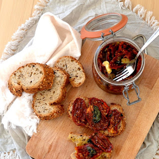 Homemade Canned sun-dried tomatoes